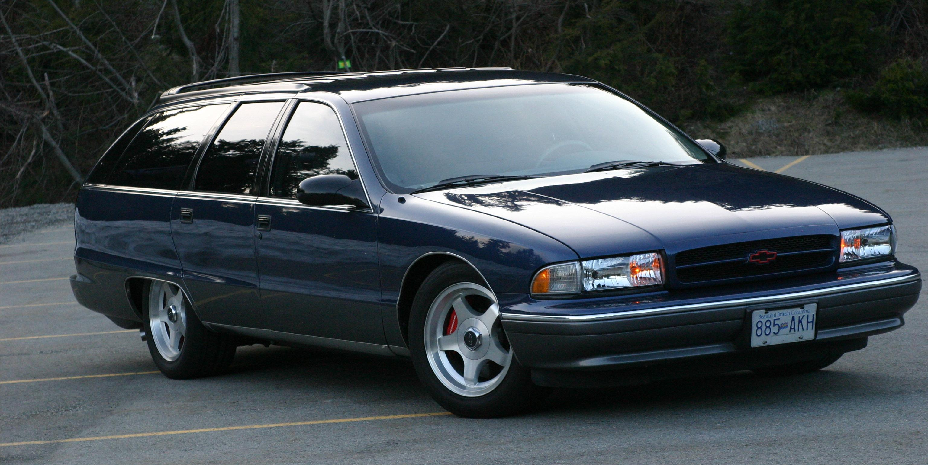 95wagon 1995 Chevrolet Caprice Specs Photos Modification