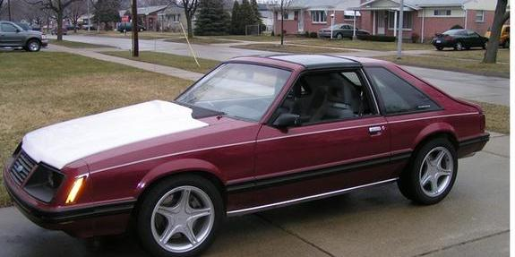 Mike83GLX 1983 Ford Mustang