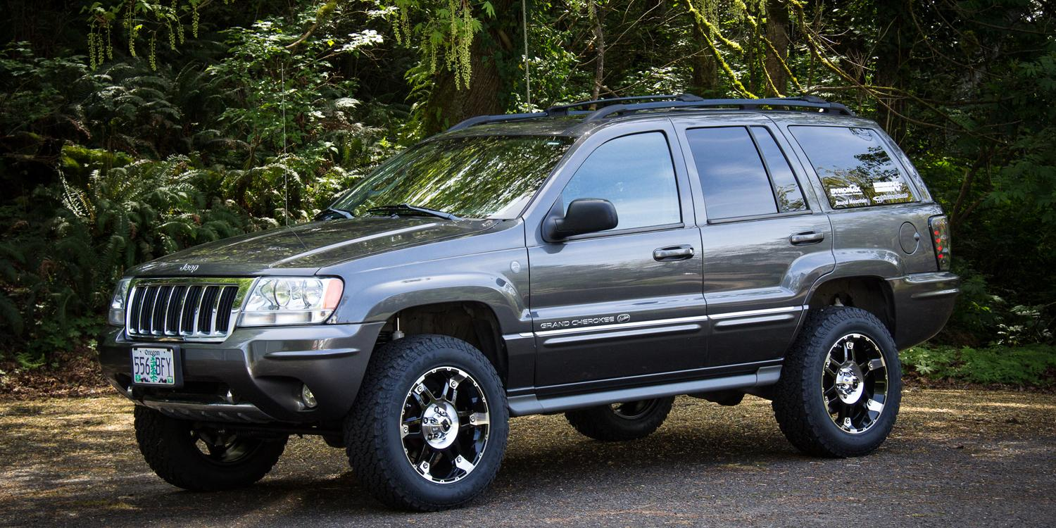 reffg 2004 jeep grand cherokeeoverland specs photos modification info at cardomain. Black Bedroom Furniture Sets. Home Design Ideas