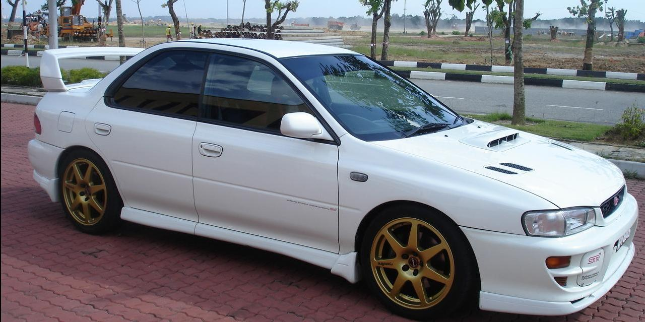 JDM Impreza GC8 STi Version 4