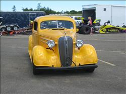 Yellow 1935Chevy