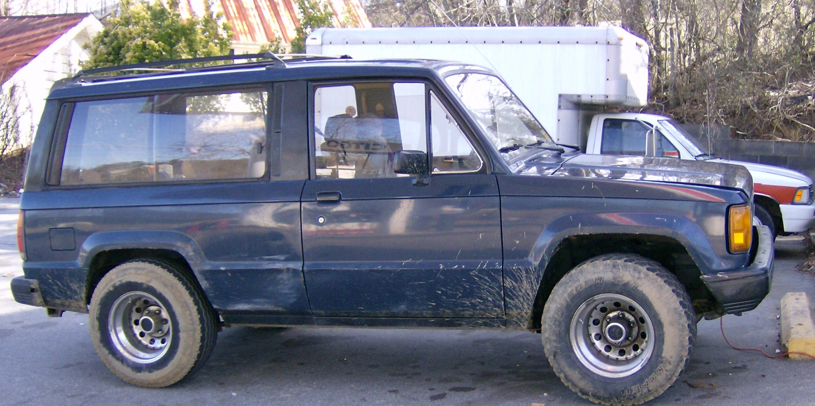 1986 Isuzu Trooper-II