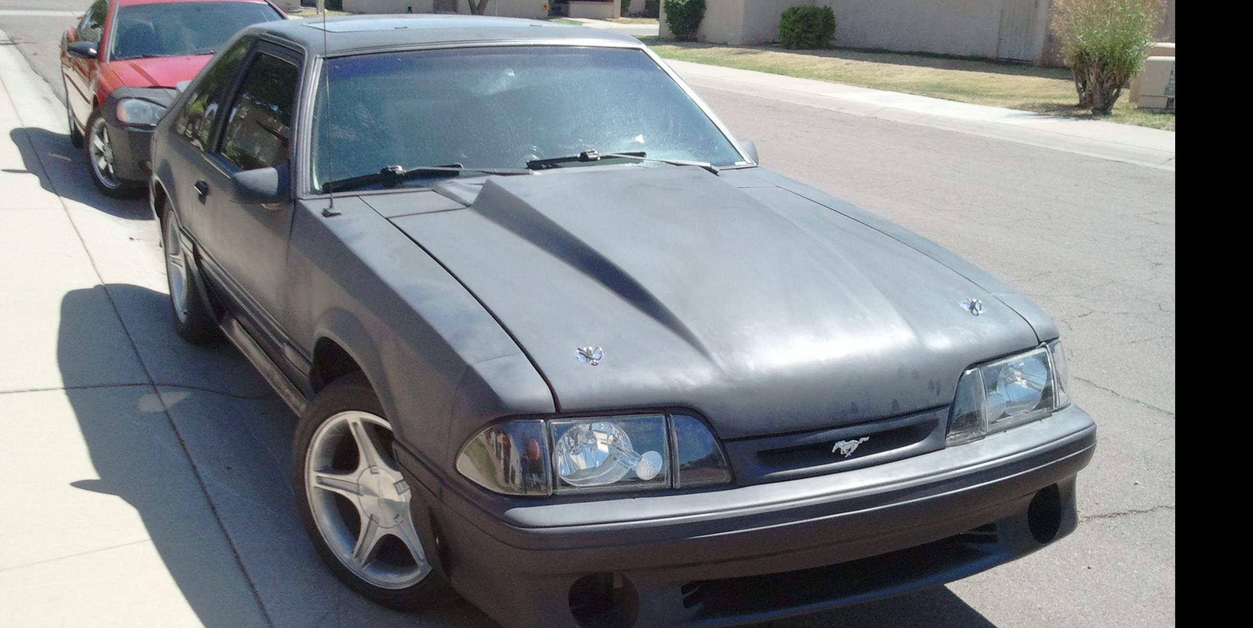 carbonblueceligt 1989 Ford Mustang