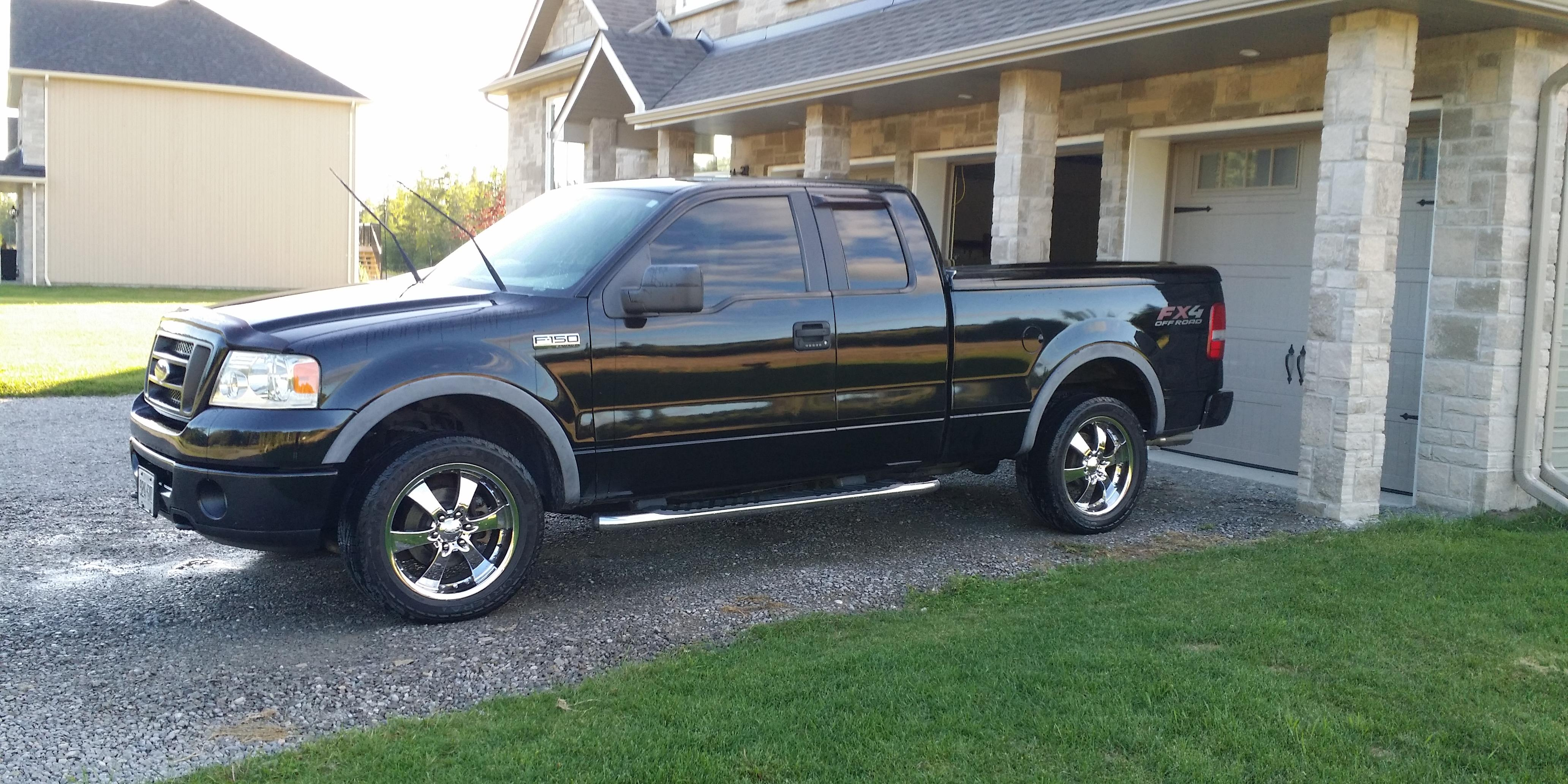 mach1eh 2006 ford f150 super cabfx4 pickup 4d 6 1 2 ft specs photos modification info at cardomain. Black Bedroom Furniture Sets. Home Design Ideas