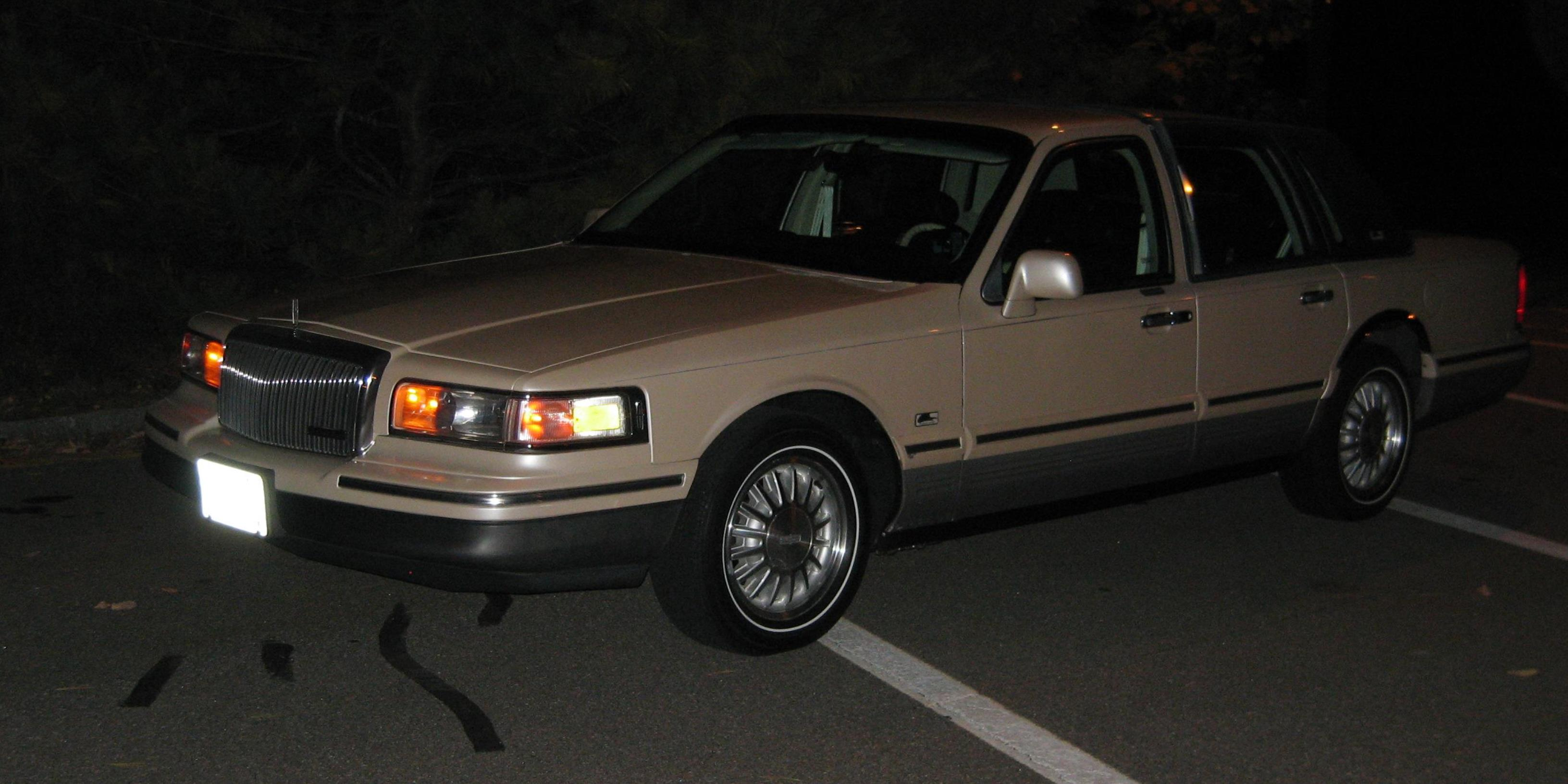 spinnakeredition 1995 Lincoln Town Car