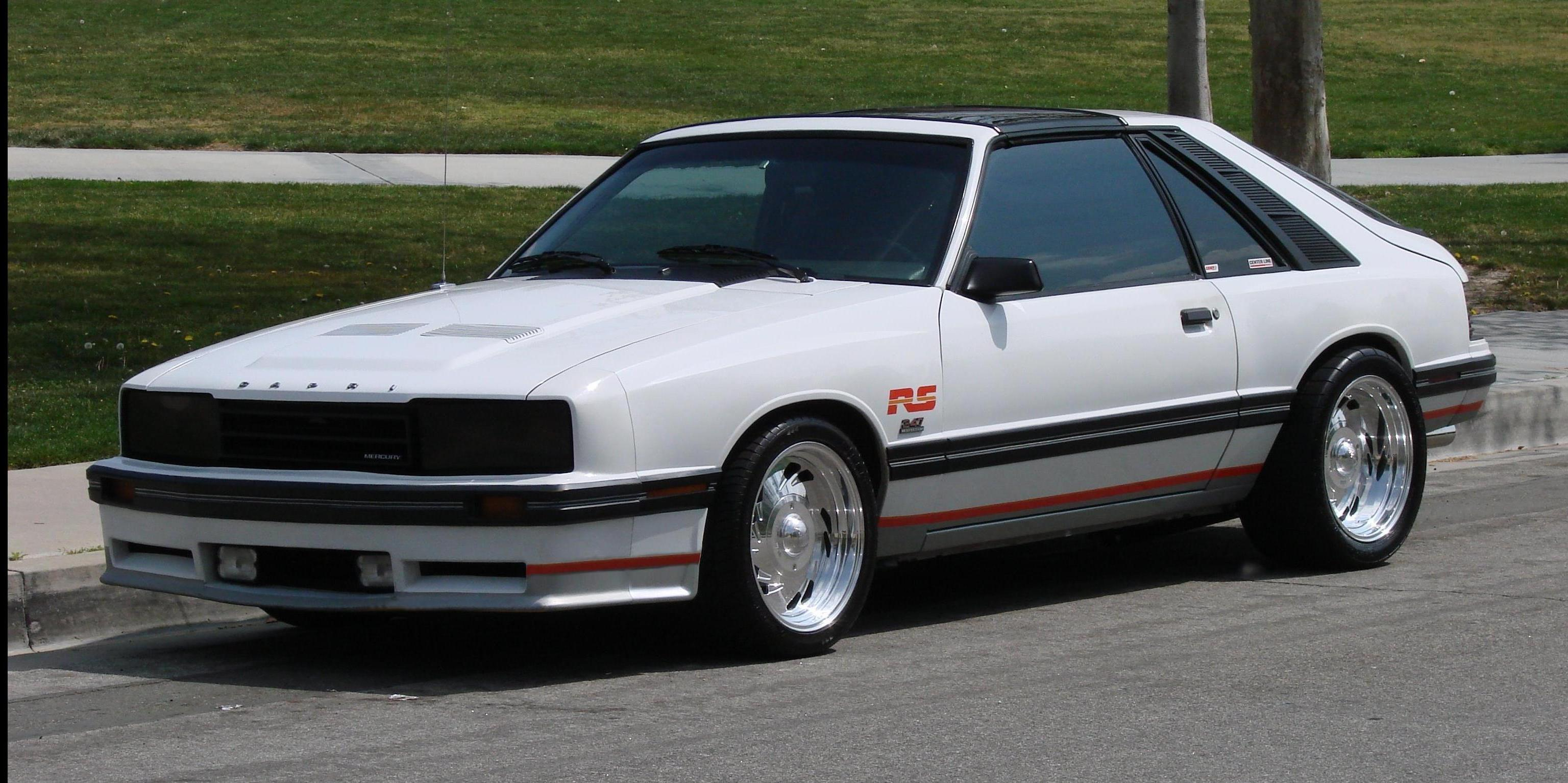 rawright 1984 Mercury Capri