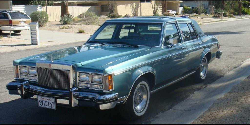 LincolnCollector 1980 Lincoln Versailles