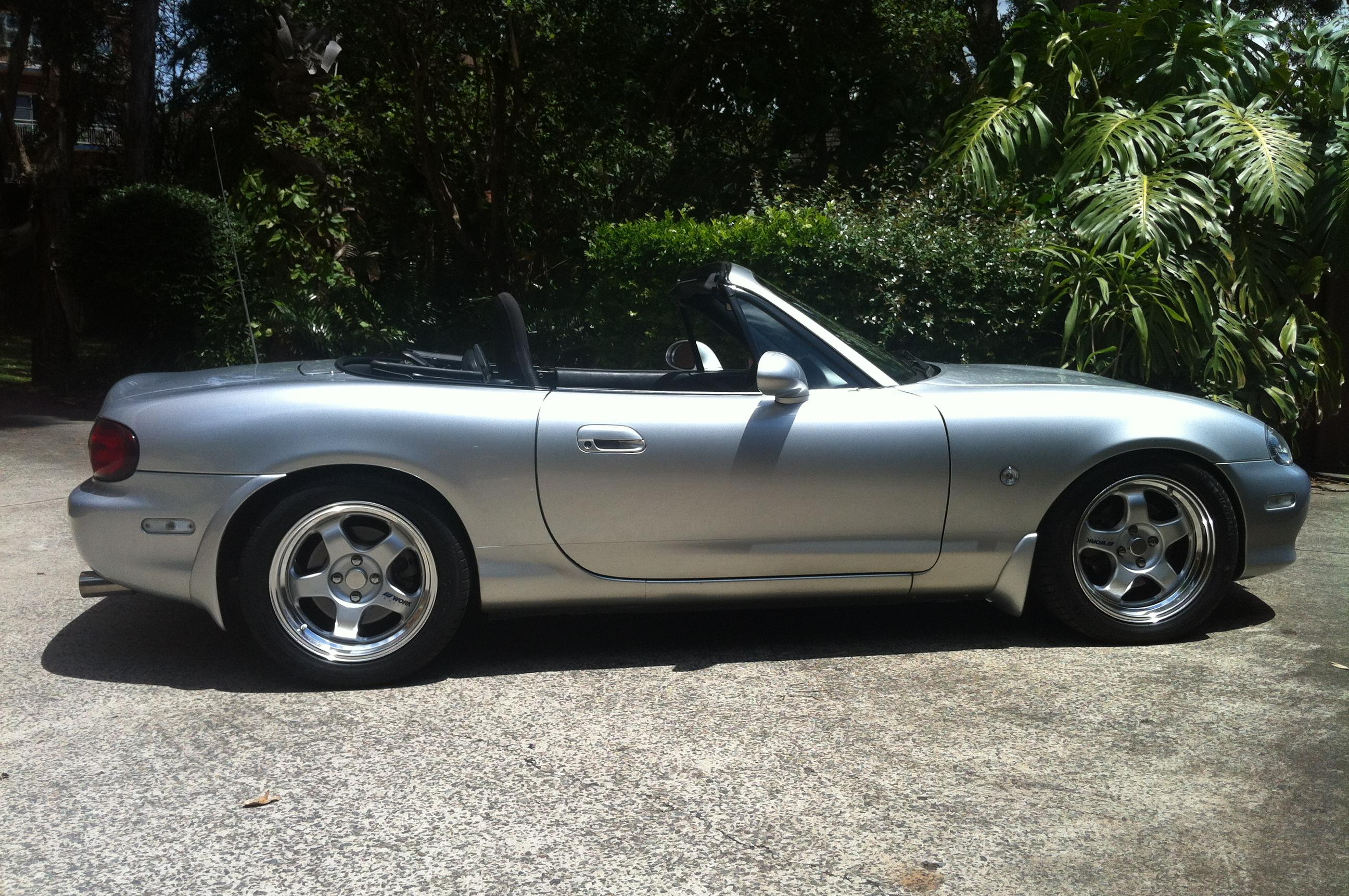 tane 1999 mazda miata mx 5 specs photos modification. Black Bedroom Furniture Sets. Home Design Ideas
