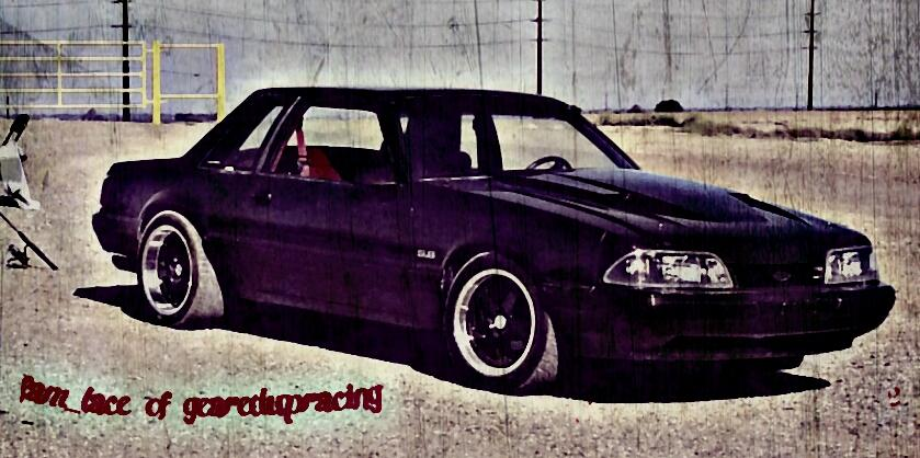 fam_lace 1992 Ford Mustang