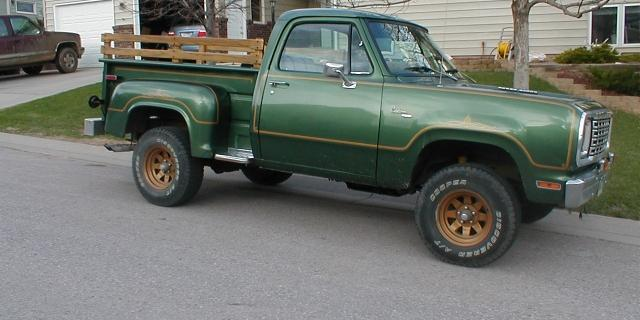 sdweatherman's 1977 Dodge Power Wagon