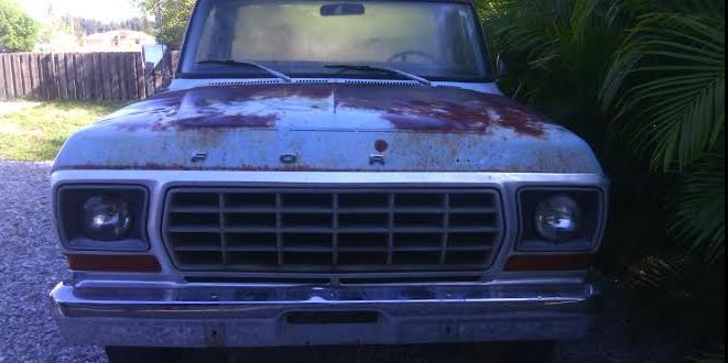 78F350 1978 Ford F350-Regular-Cab