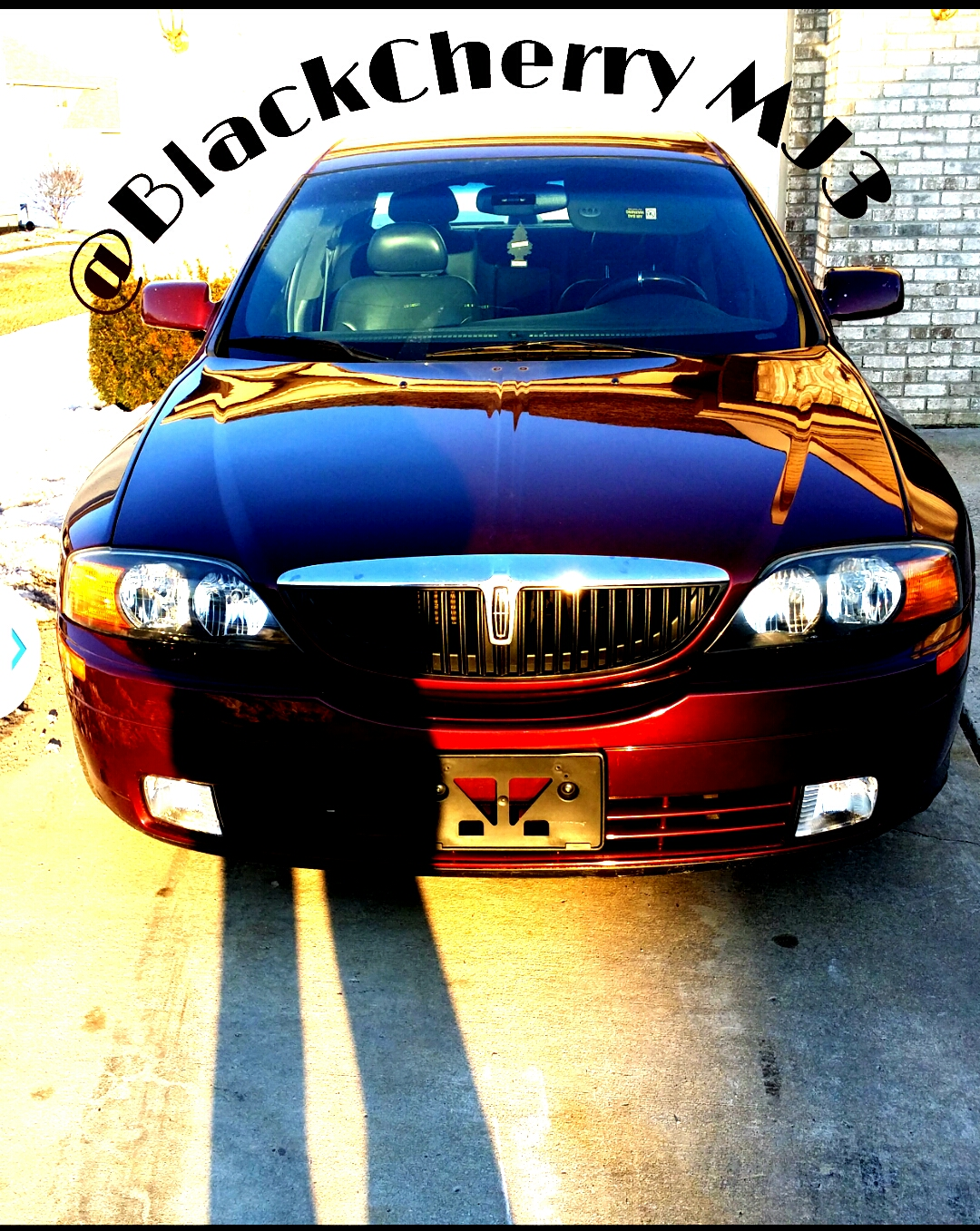 Blessed soldier's 2000 Lincoln LS