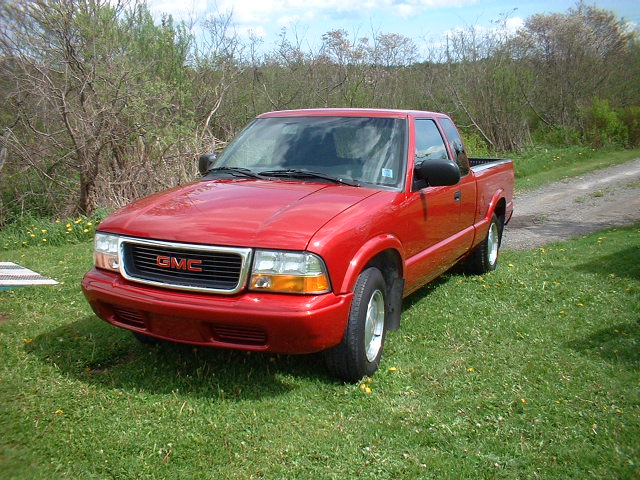 2002 GMC Sonoma-Extended-Cab
