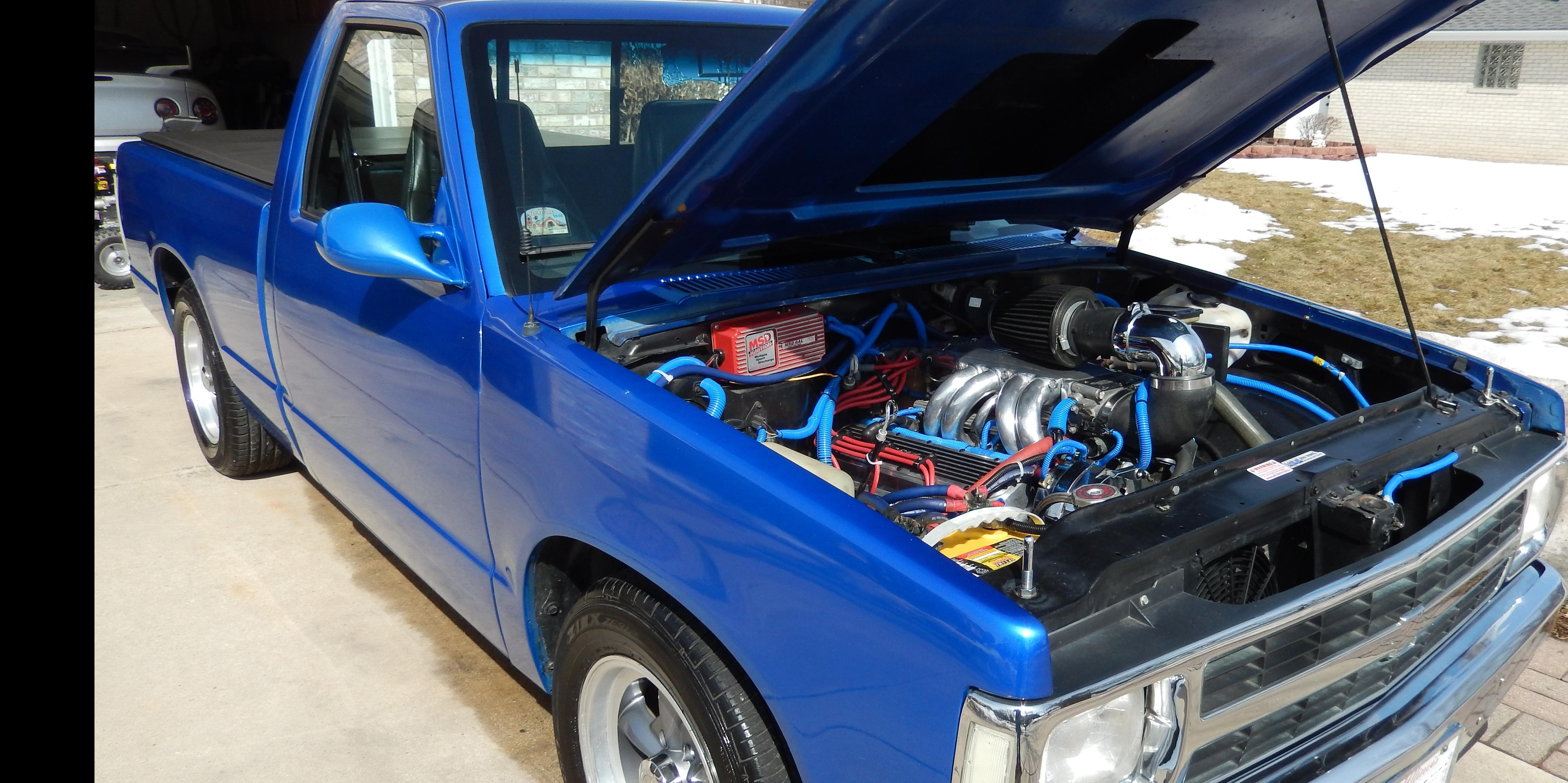 1992 Chevrolet S10-Regular-Cab