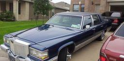 FLEETWOOD TRACEI 1992 Cadillac Brougham