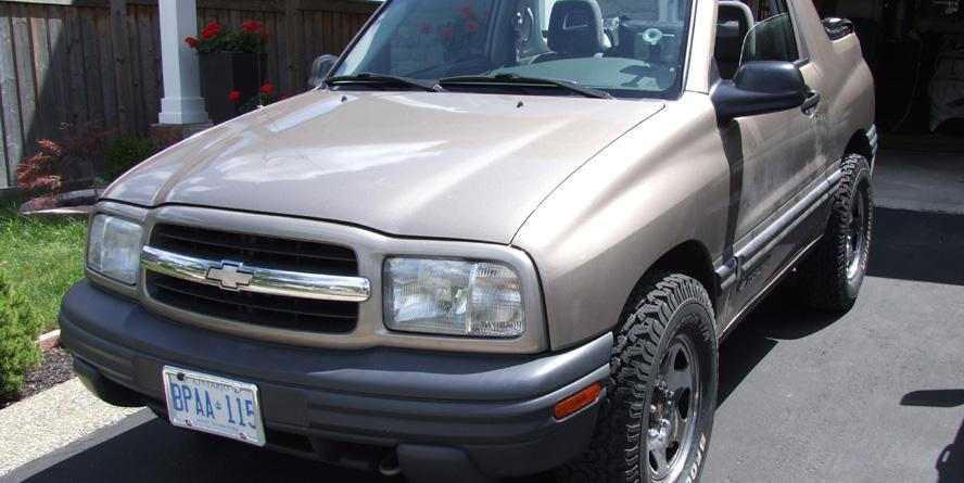 krisF 2002 Chevrolet Tracker Specs Photos Modification Info at