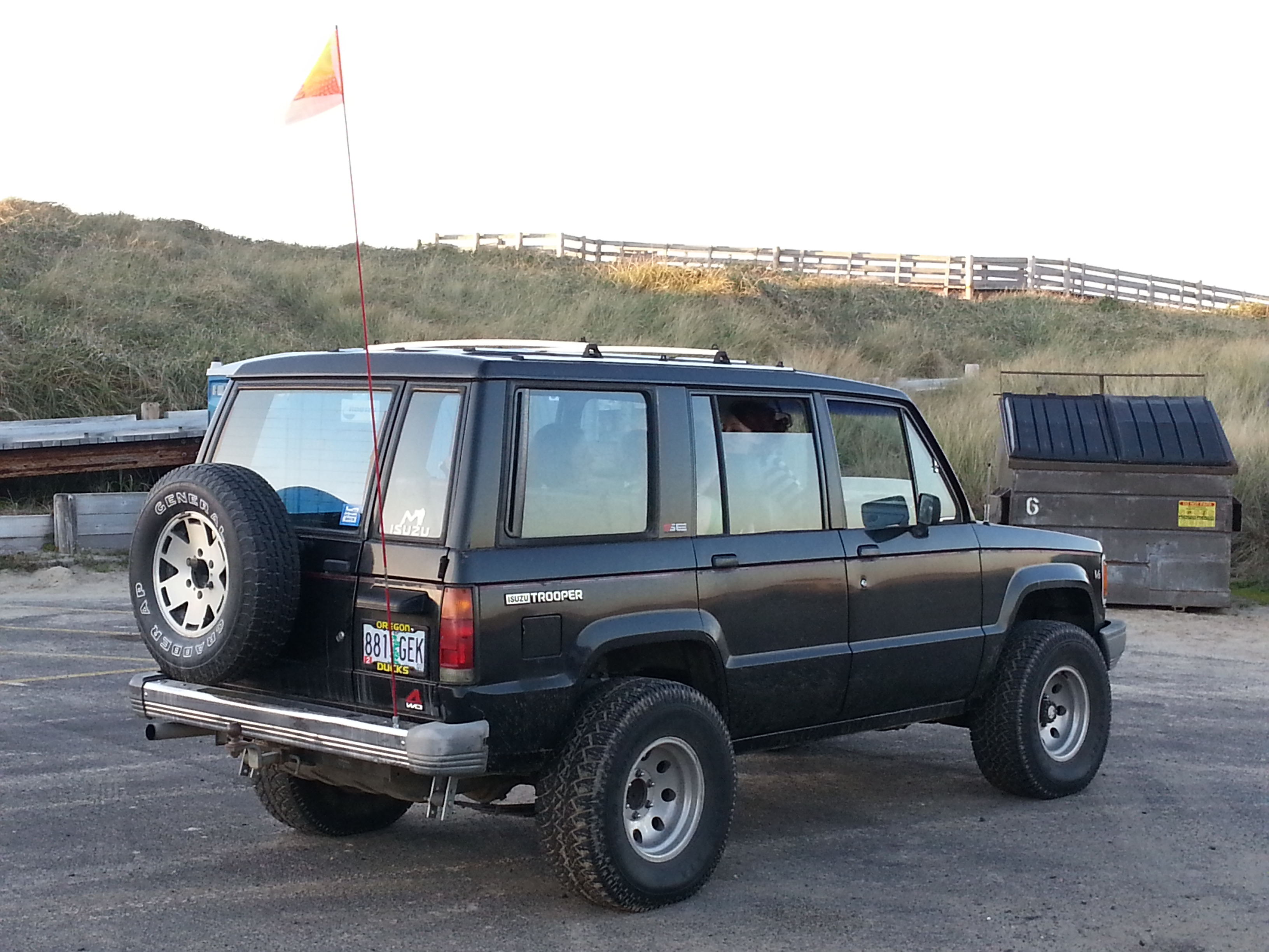 Anthony Demotte's 1991 Isuzu Trooper
