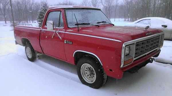 Henry Justice 1985 Dodge D150-Regular-Cab