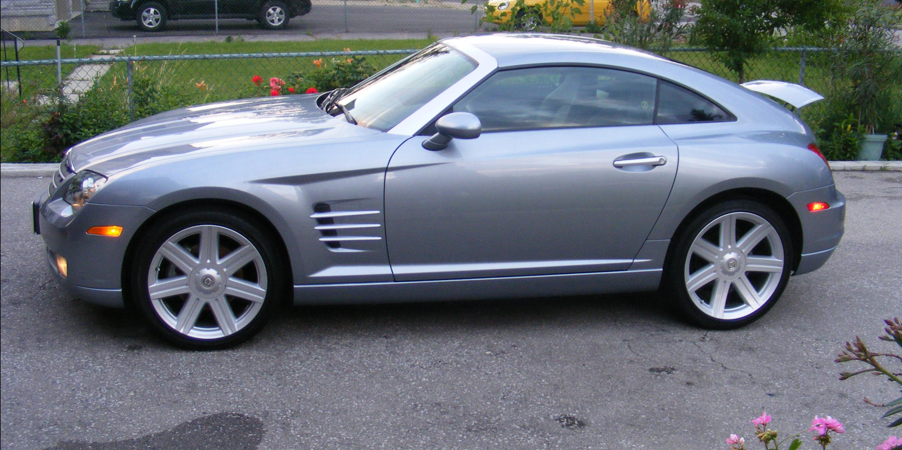 fitaholic 2004 Chrysler Crossfire