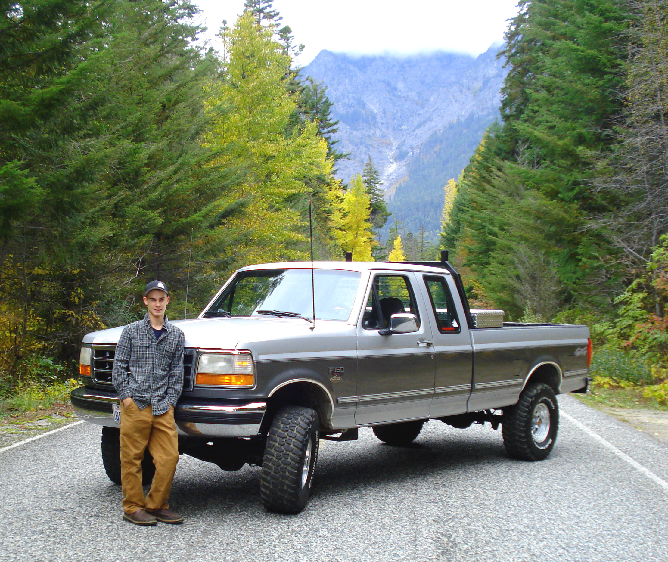 1993 Ford F150-Super-Cab