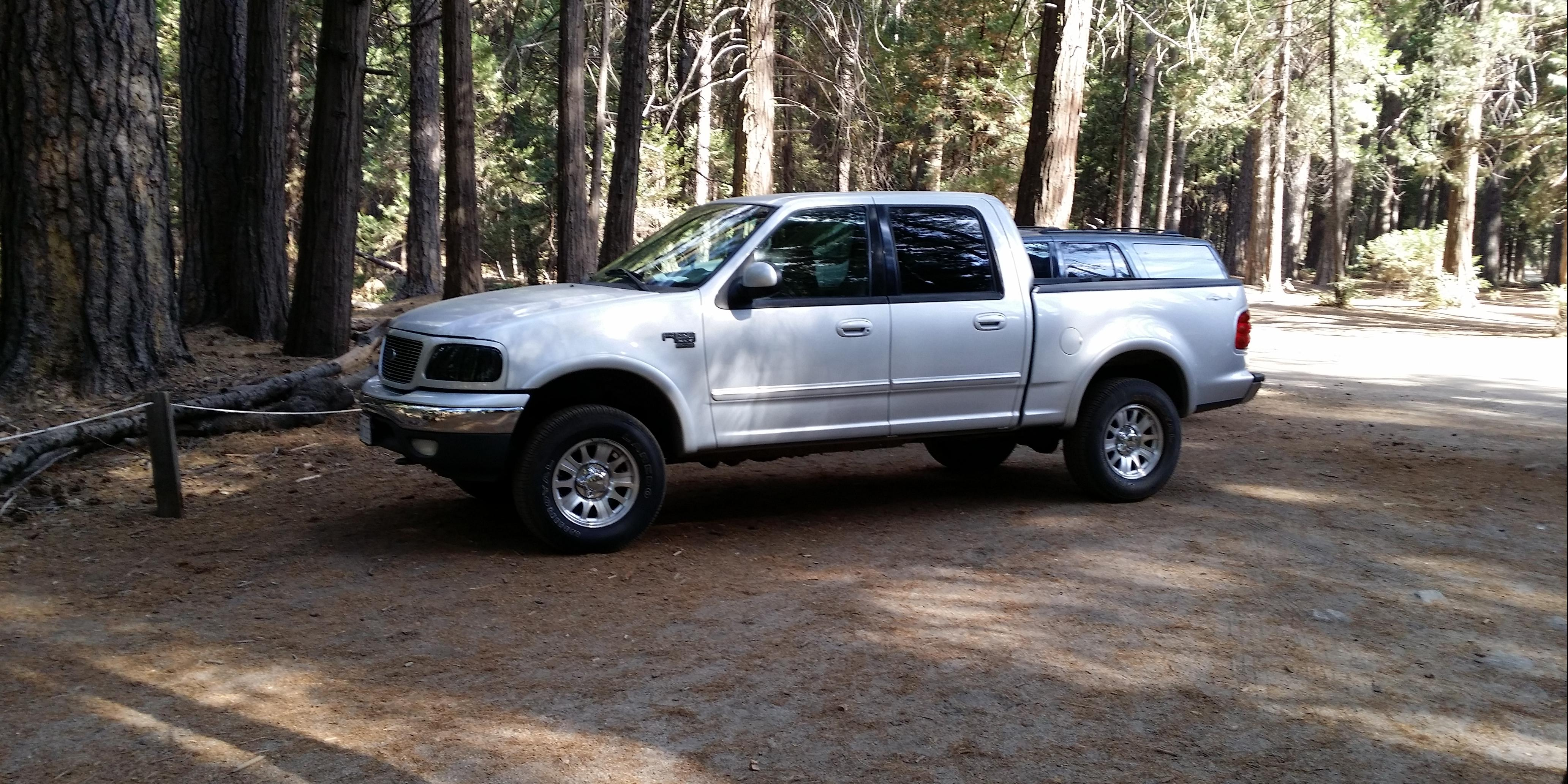 2001 Ford F150-SuperCrew-Cab