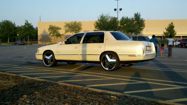 Jimmy Hurricaine Bolden 1999 Cadillac Deville Specs
