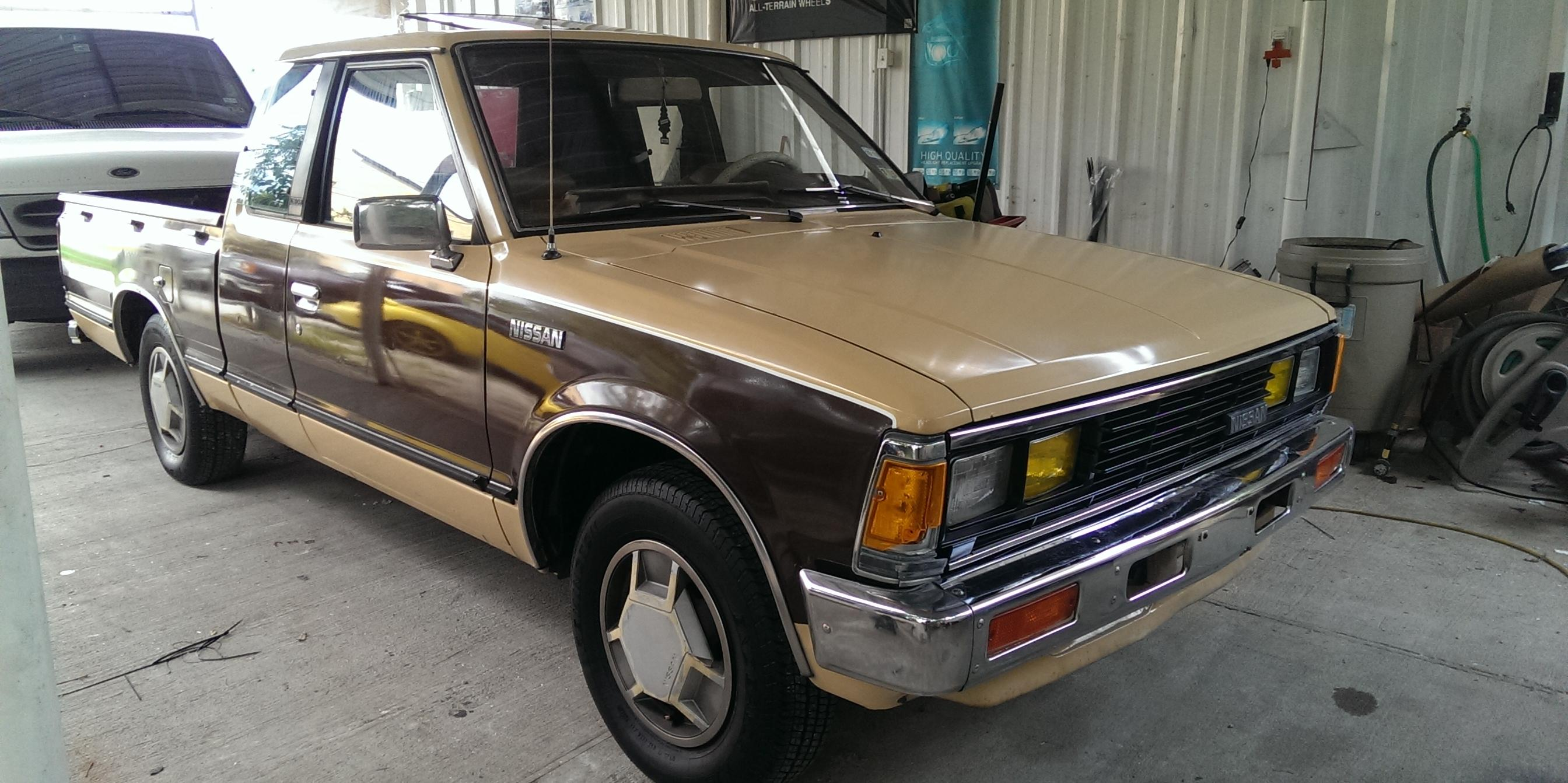 1984 Nissan 720-Pick-Up