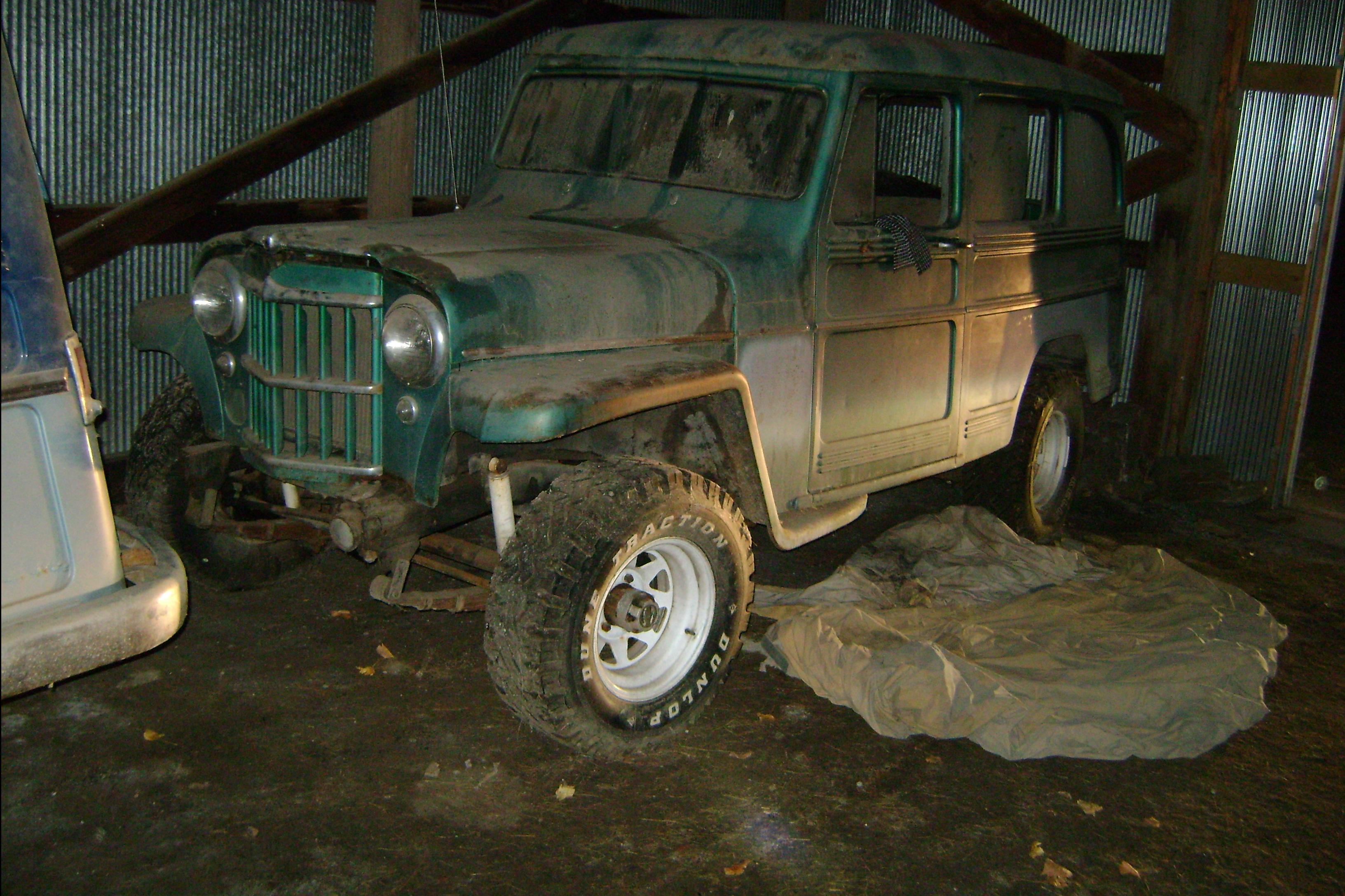 1958 Willys Wagon