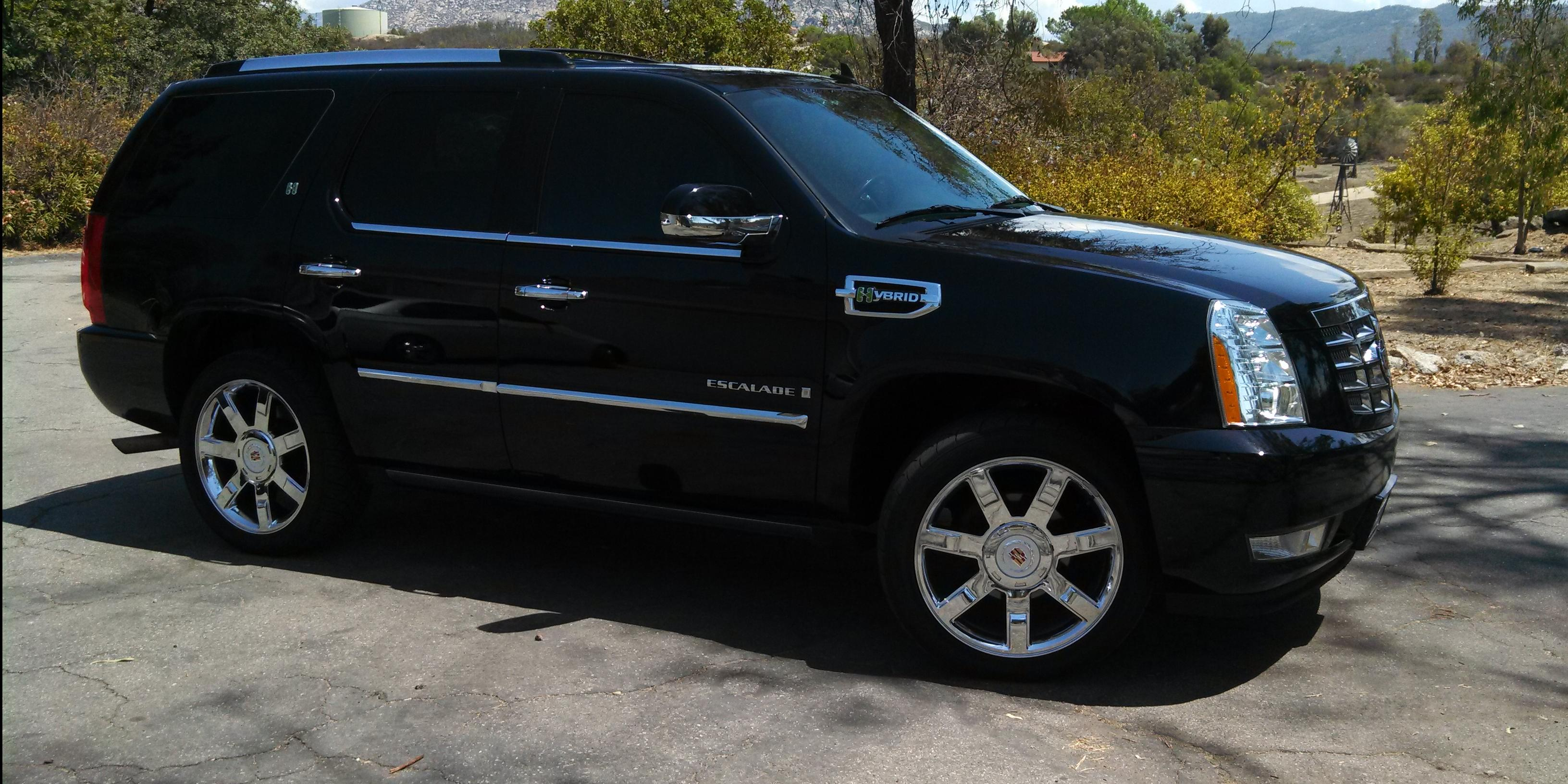 sig 2009 cadillac escaladehybrid sport utility 4d specs photos modification info at cardomain. Black Bedroom Furniture Sets. Home Design Ideas