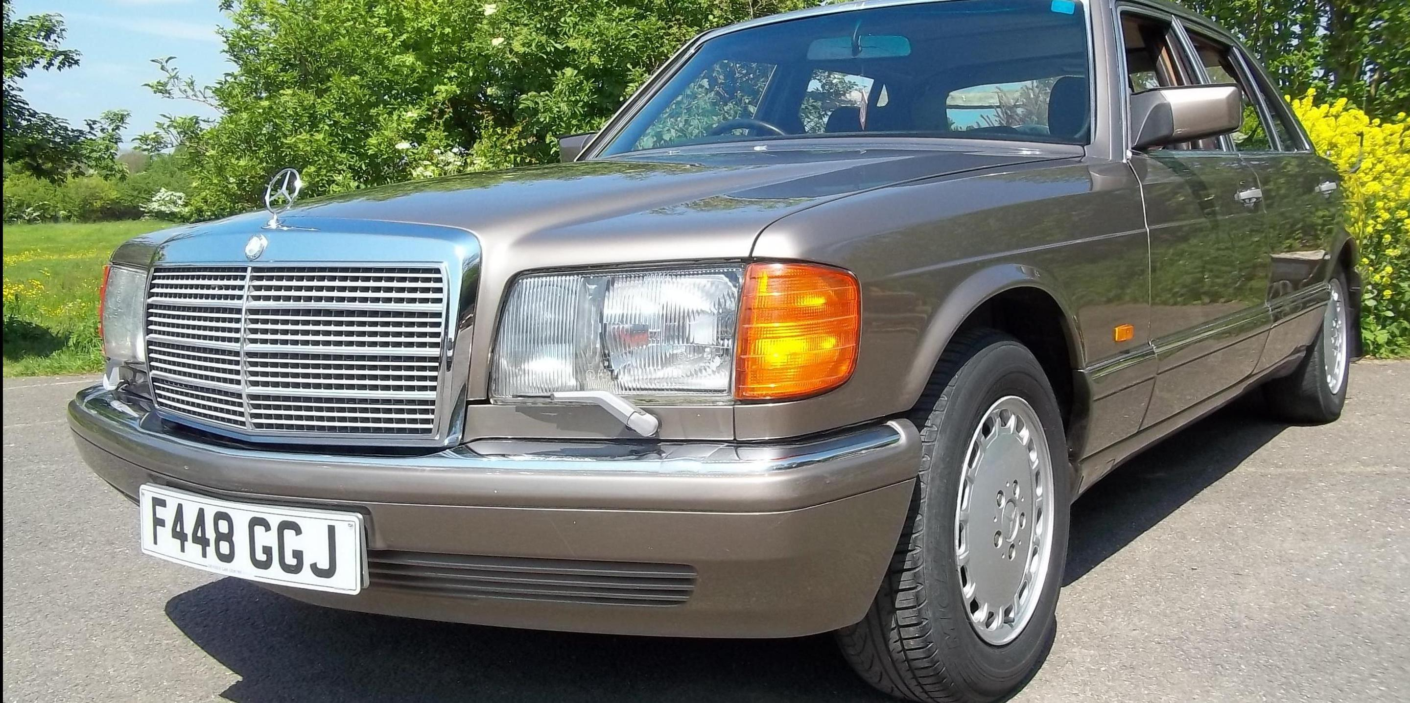 Goodoldboy 1988 Mercedes-Benz 420SEL