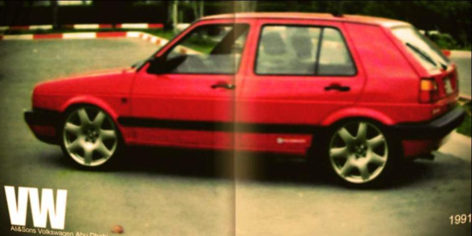 Khaled Salah 1991 Volkswagen Golf