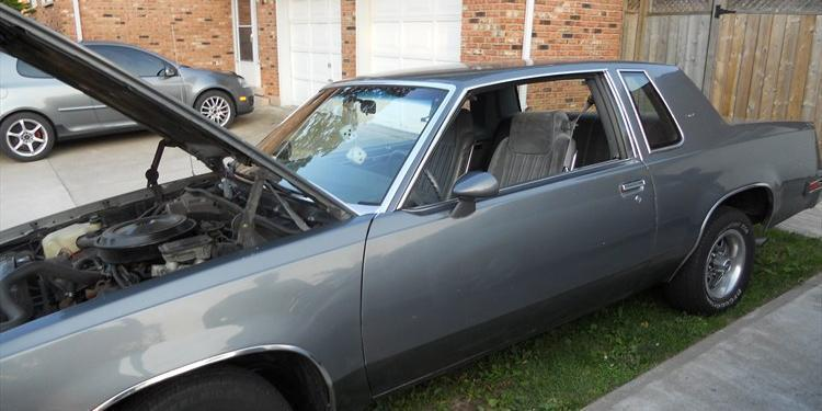 1985 Oldsmobile Cutlass-Supreme