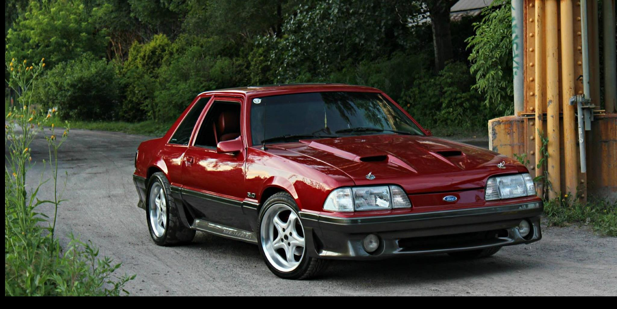 CaNdY ReD StAnG 1988 Ford Mustang