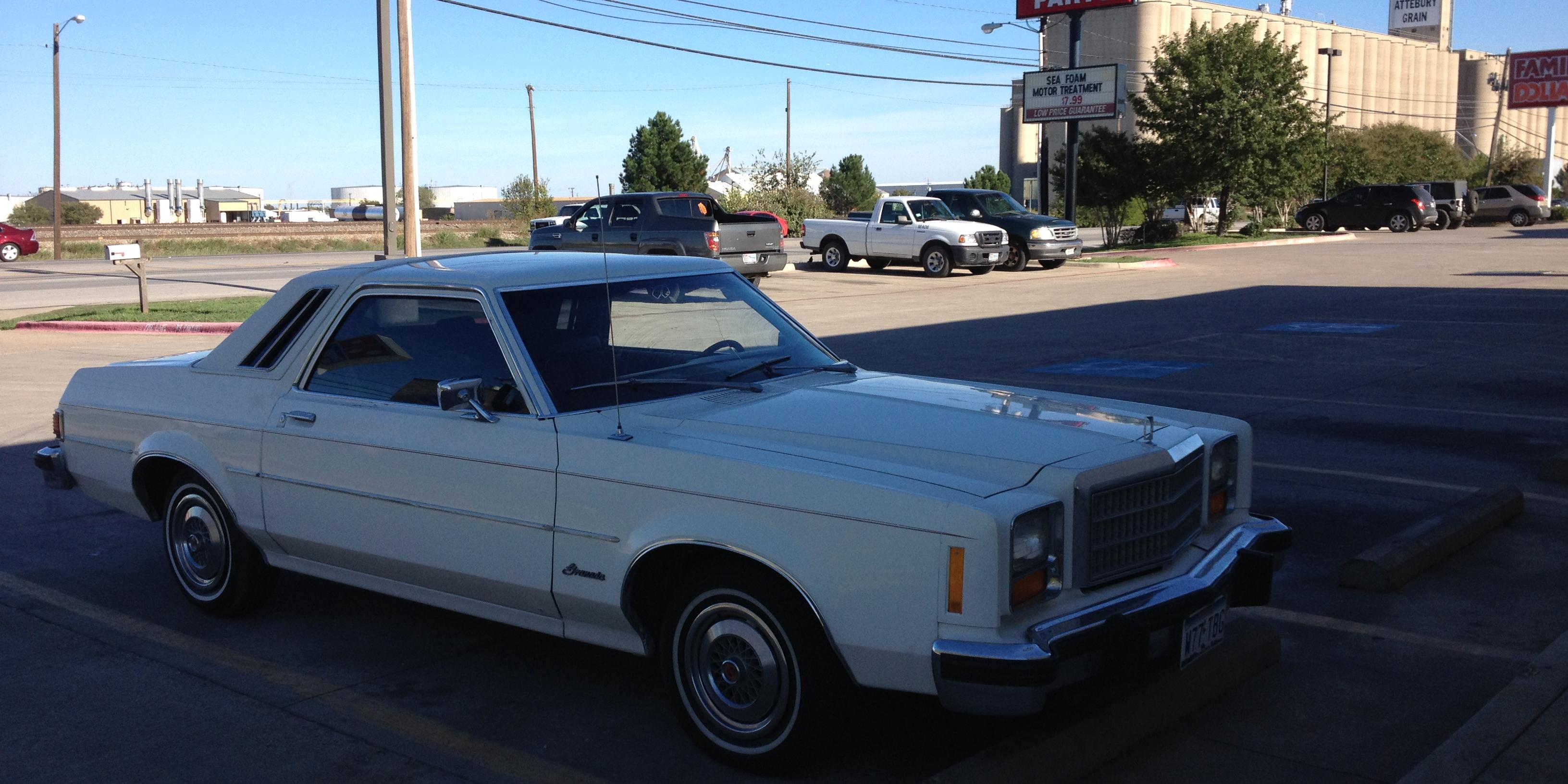 Troy Peterson's 1978 Ford Granada in