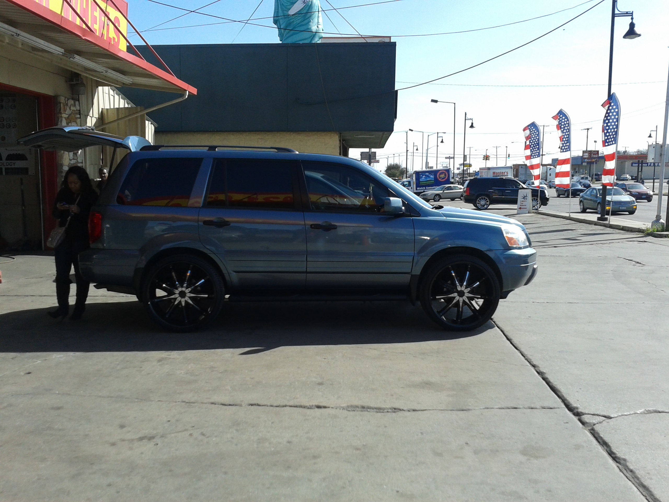 Ford Fusion Black Rims >> david76134 2005 Honda Pilot Specs, Photos, Modification ...