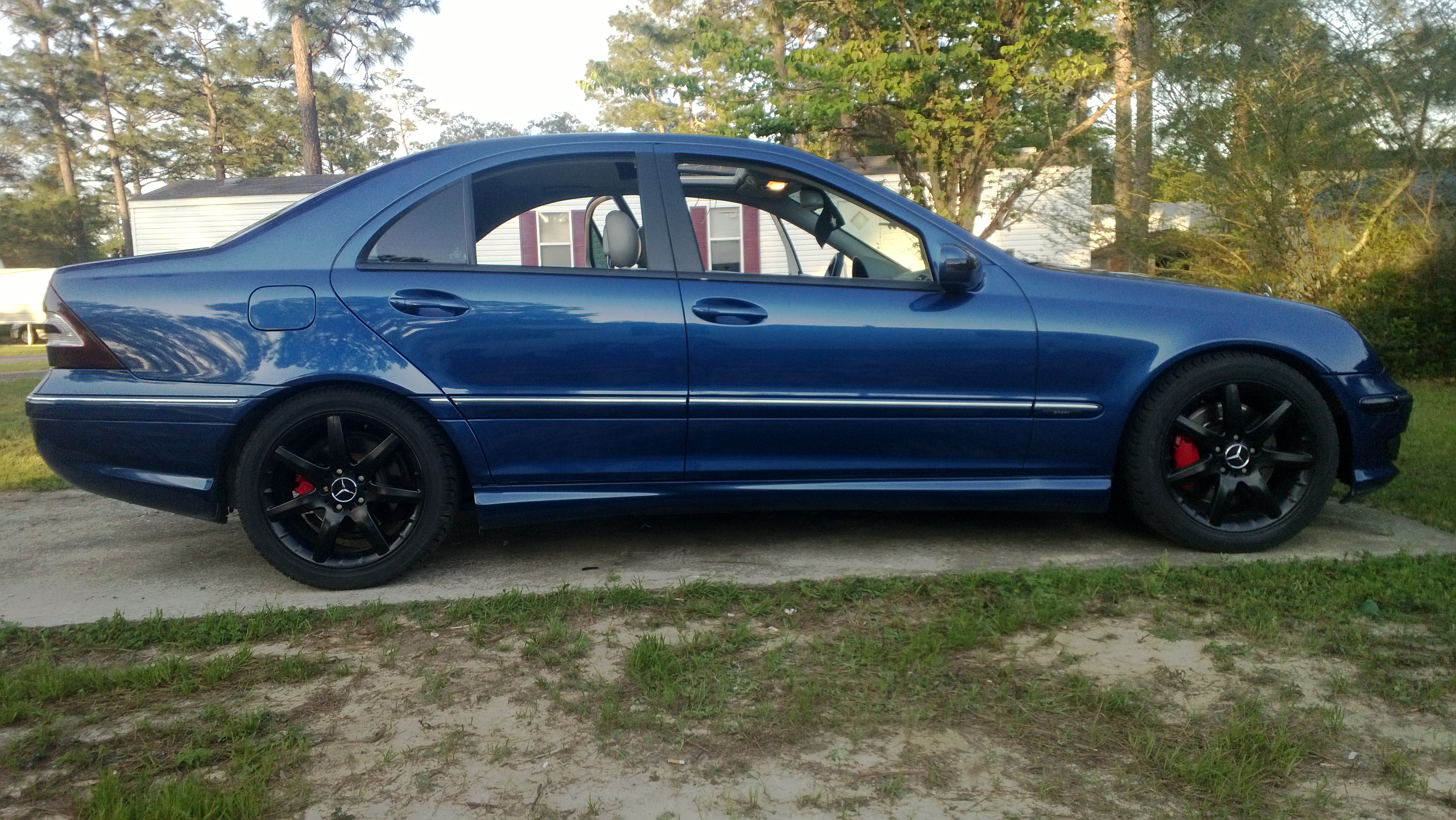 chris chavers 2005 mercedes benz c classc230 sport sedan 4d specs photos modification info at. Black Bedroom Furniture Sets. Home Design Ideas