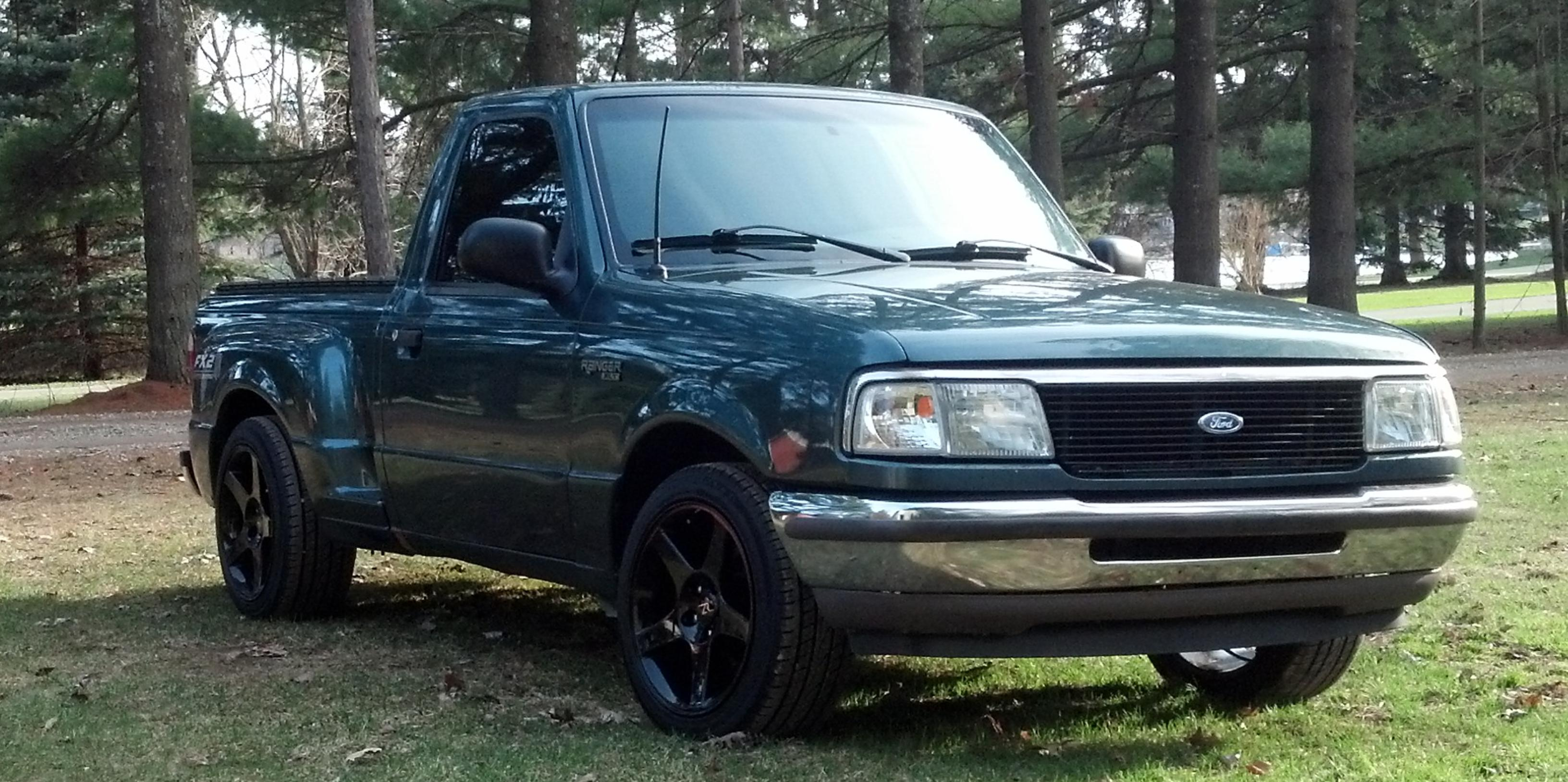 vexcon 1996 Ford Ranger-Regular-Cab