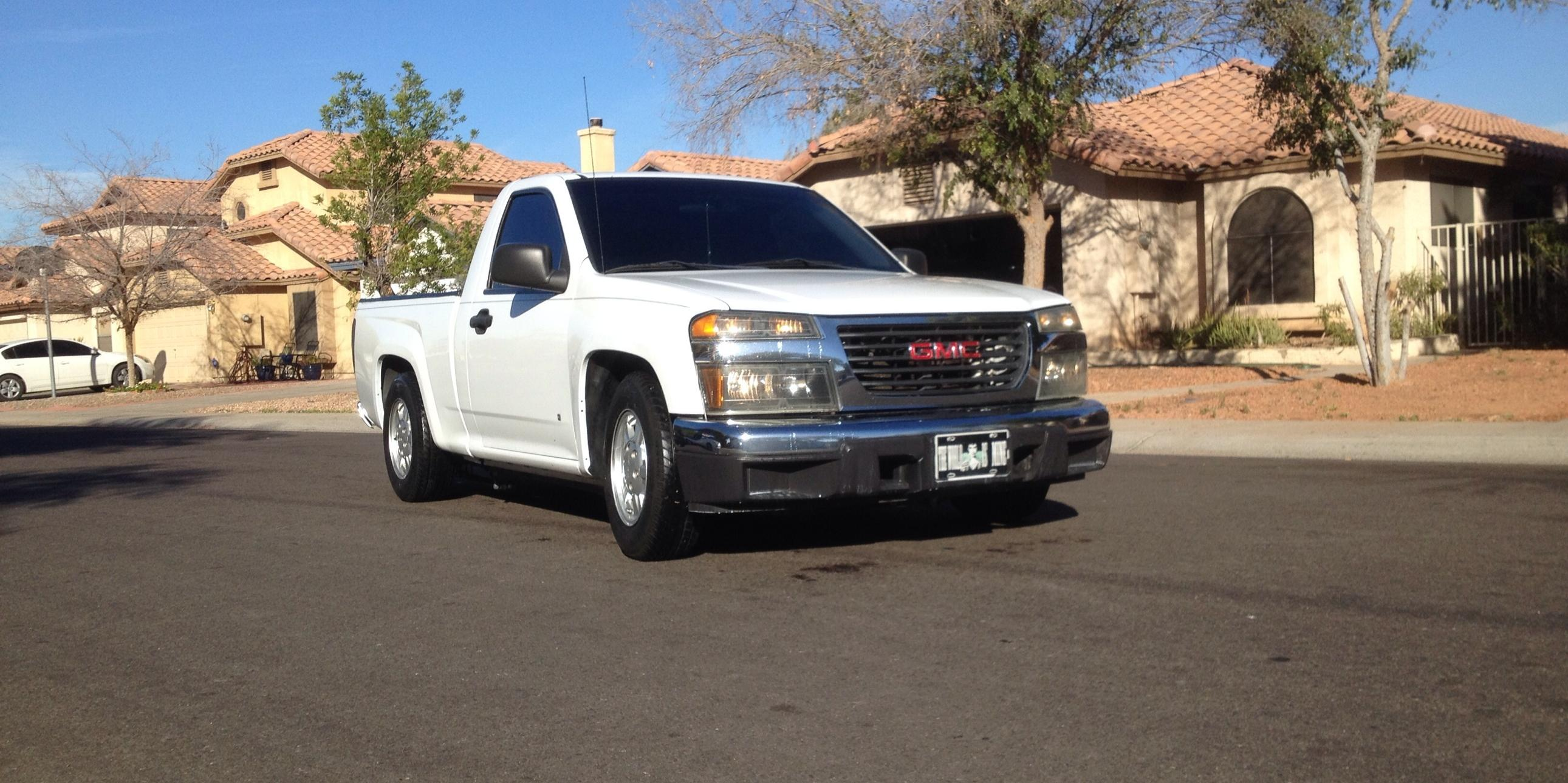 2007 GMC Canyon-Regular-Cab