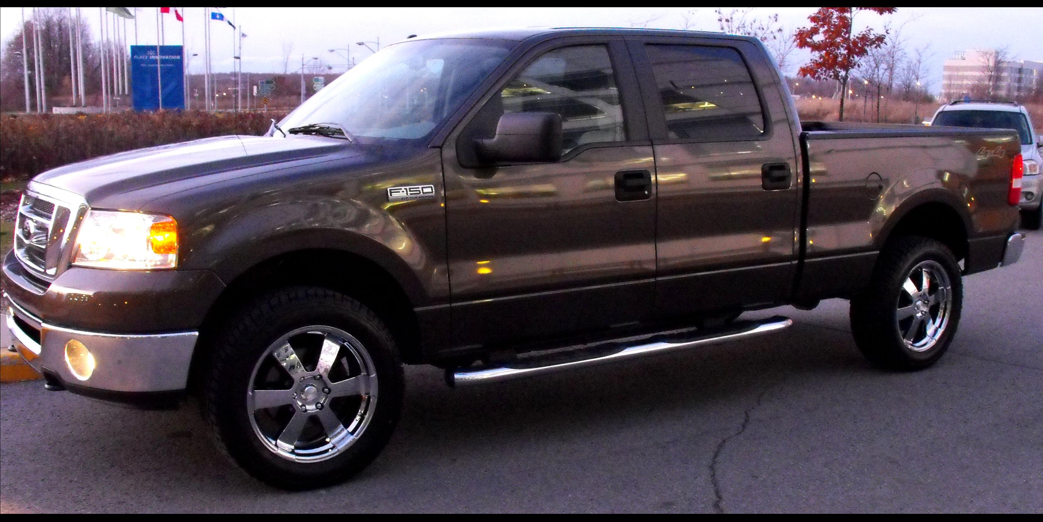 2008 Ford F150-SuperCrew-Cab