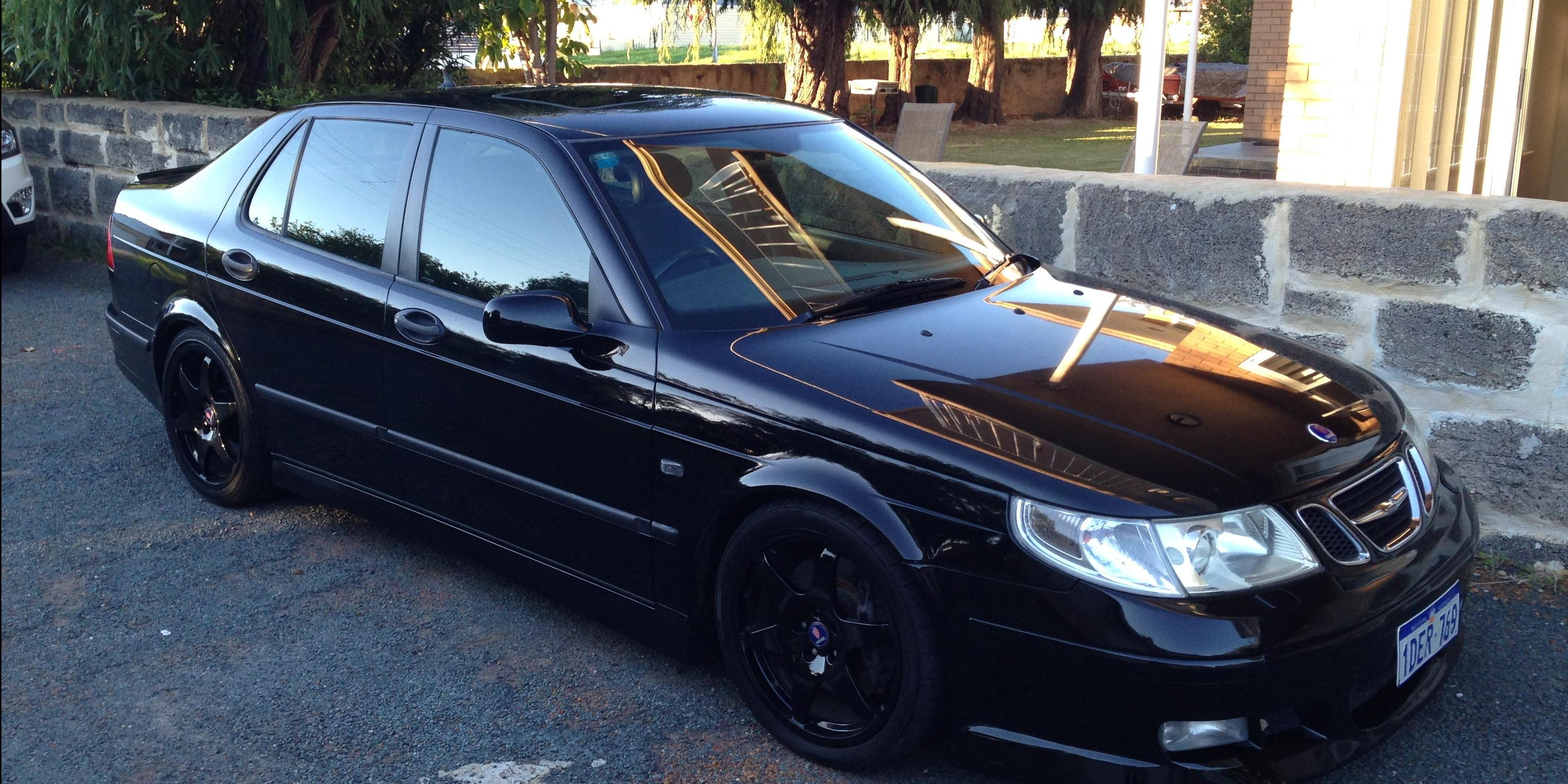 pommiemike 2003 saab 9 5 specs photos modification info at cardomain. Black Bedroom Furniture Sets. Home Design Ideas