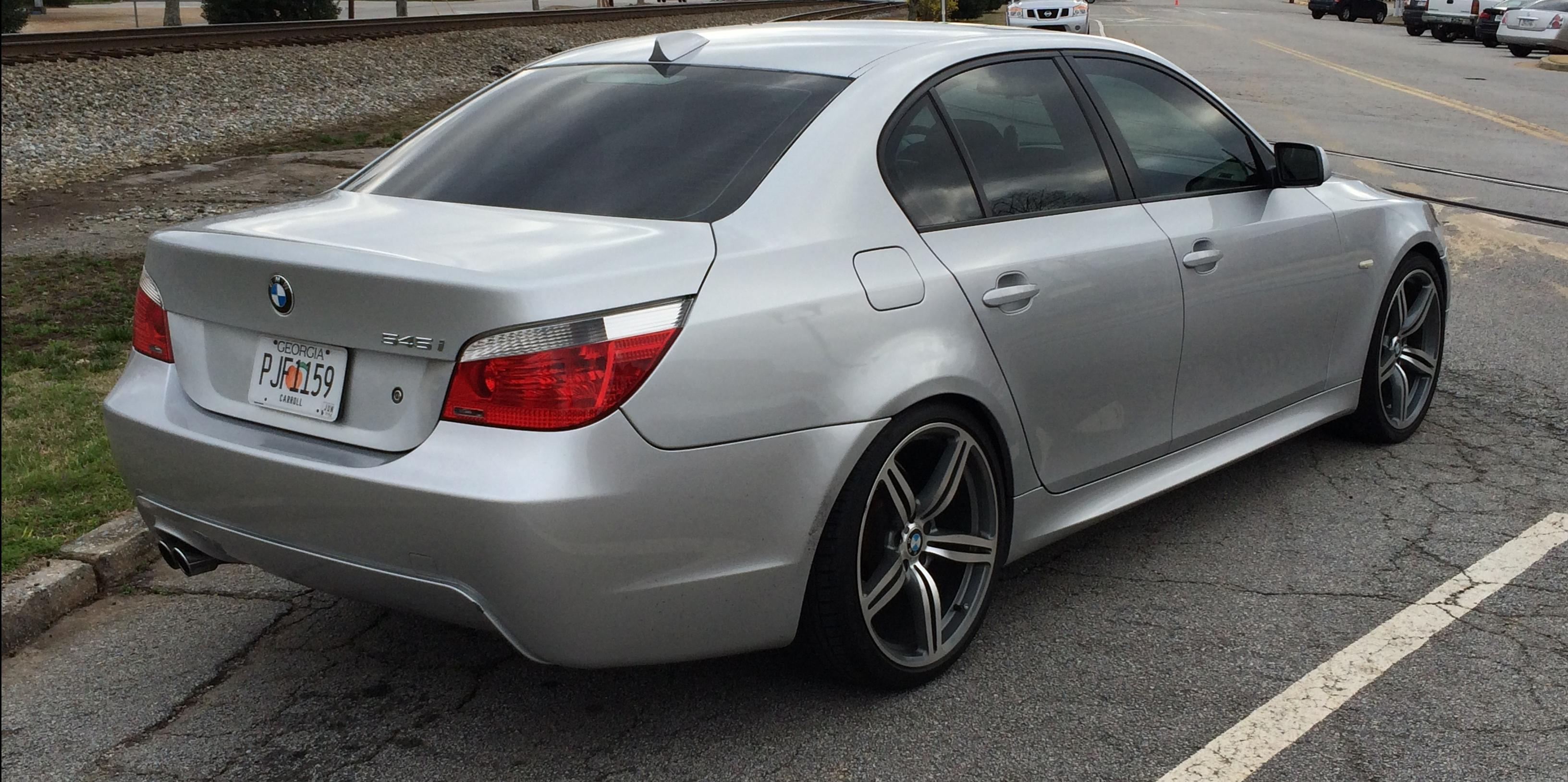 BMW Series Page View All BMW Series At CarDomain - 2008 bmw 545i