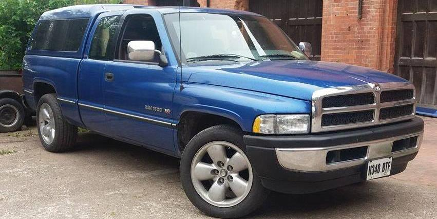 motoringartist 1996 Dodge Ram 1500 Crew Cab