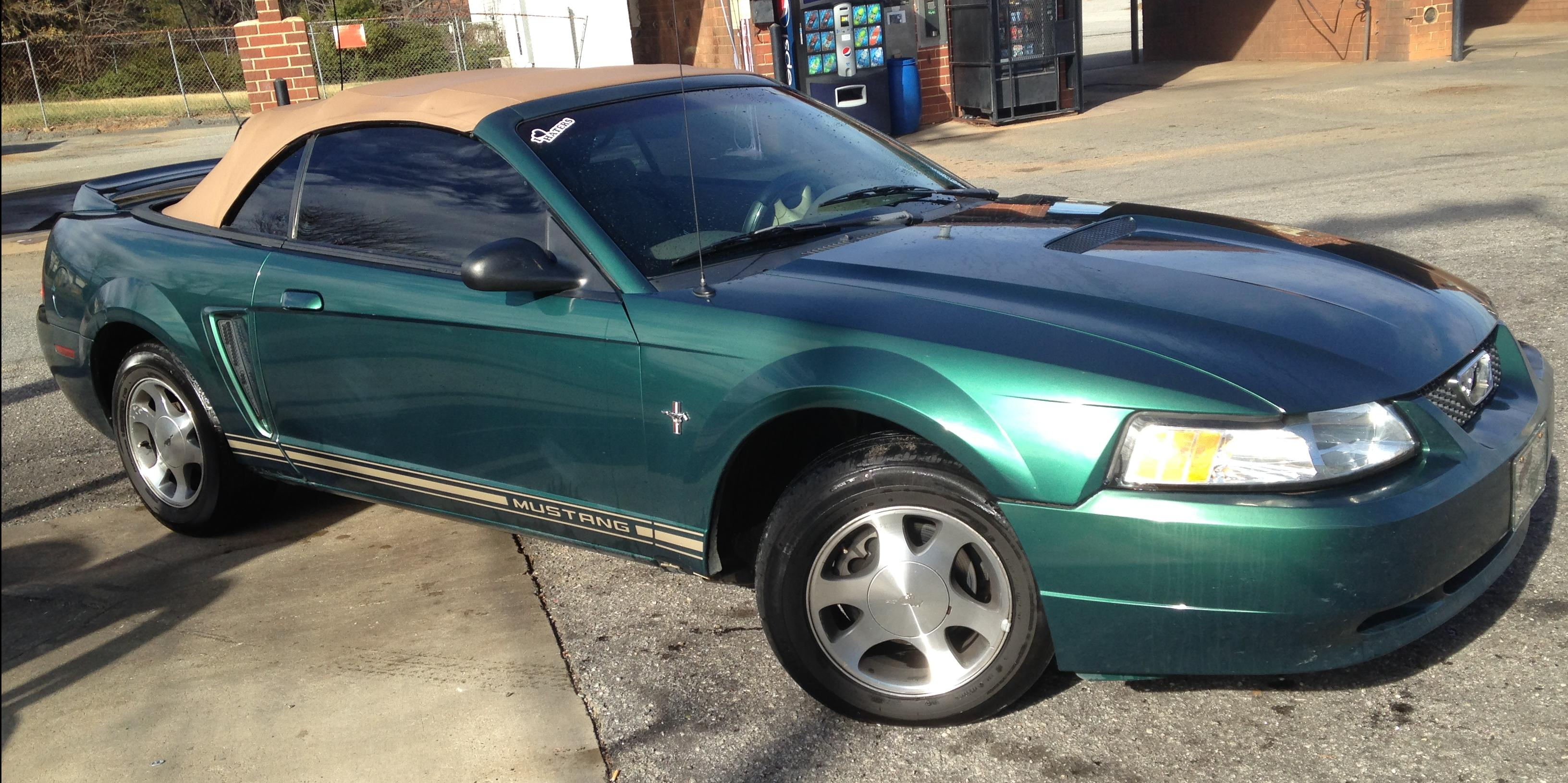 Tyler Tessnear 2000 Ford Mustang