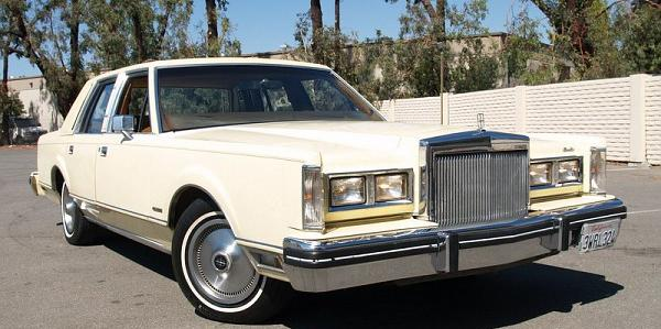 armthehomeless 1981 Lincoln Town-Car