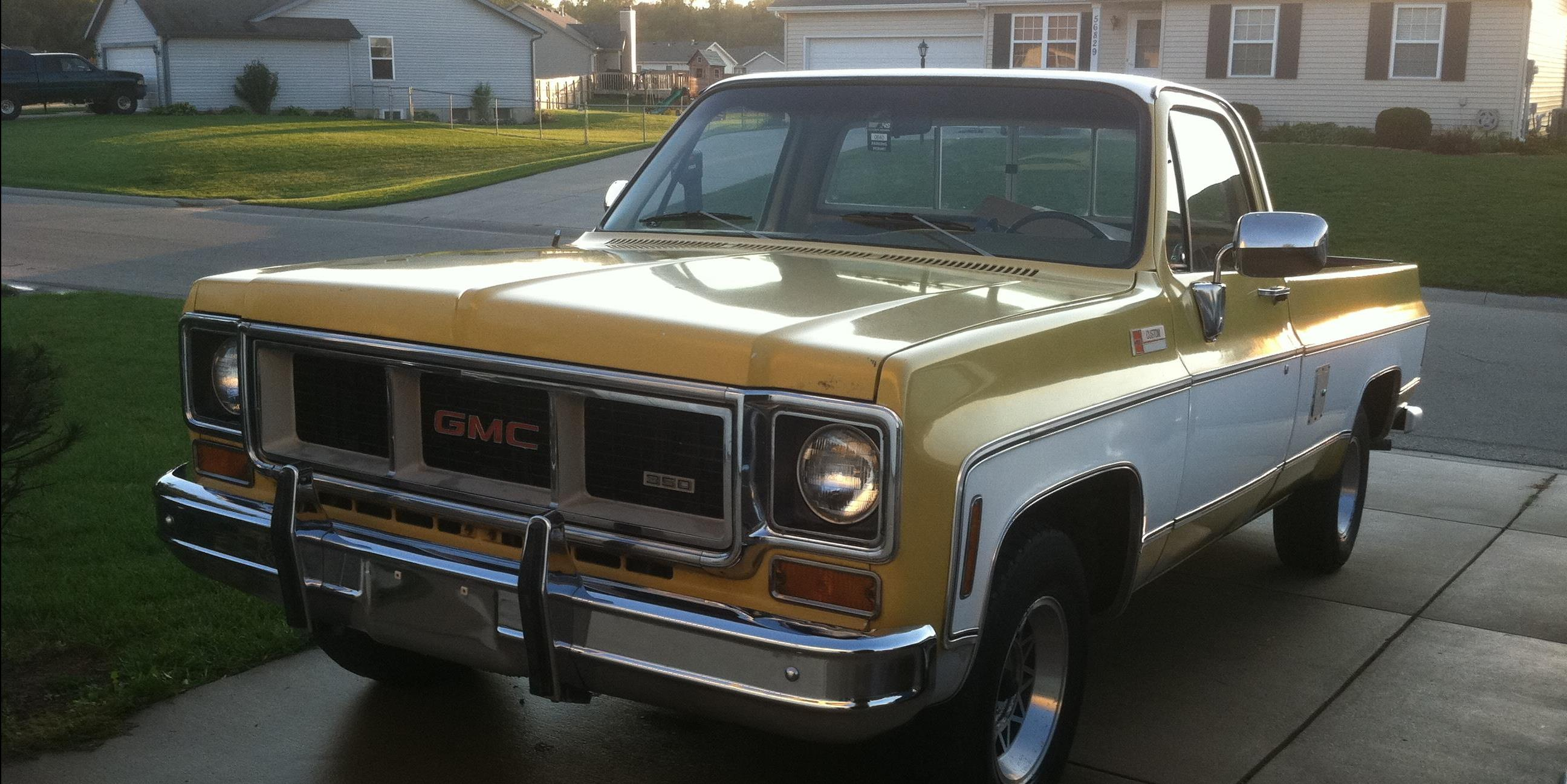 Coolhand Lukas 1974 Gmc Sierra Classic 1500 Regular Cabsle Pickup 2d 8 Ft Specs Photos Modification Info At Cardomain