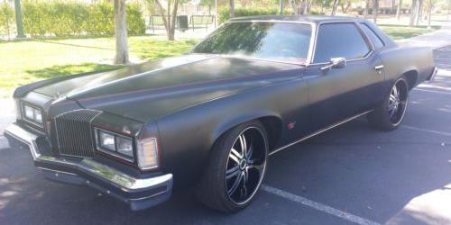 SICK MADE 1976 Pontiac Grand Prix