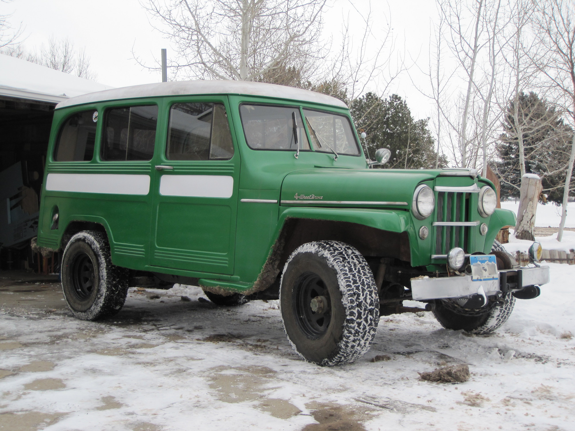 Da BigD's 1954 Willys Wagon