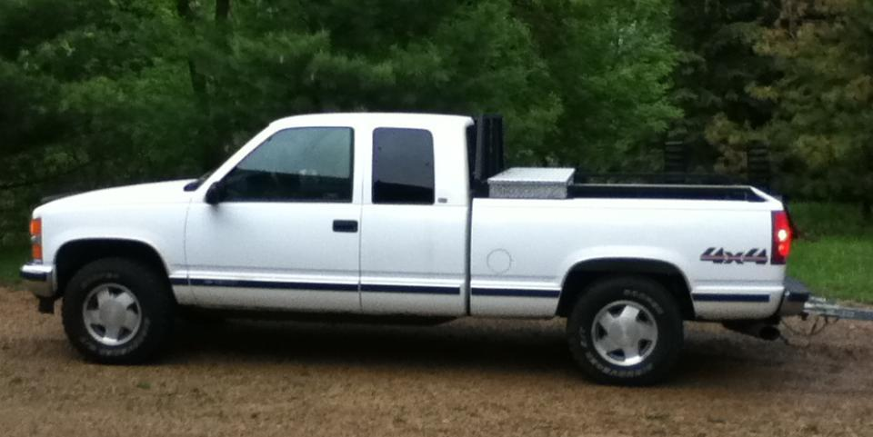 Slimmerslough 1998 Chevrolet Silverado 1500 Extended Cabshort Bed