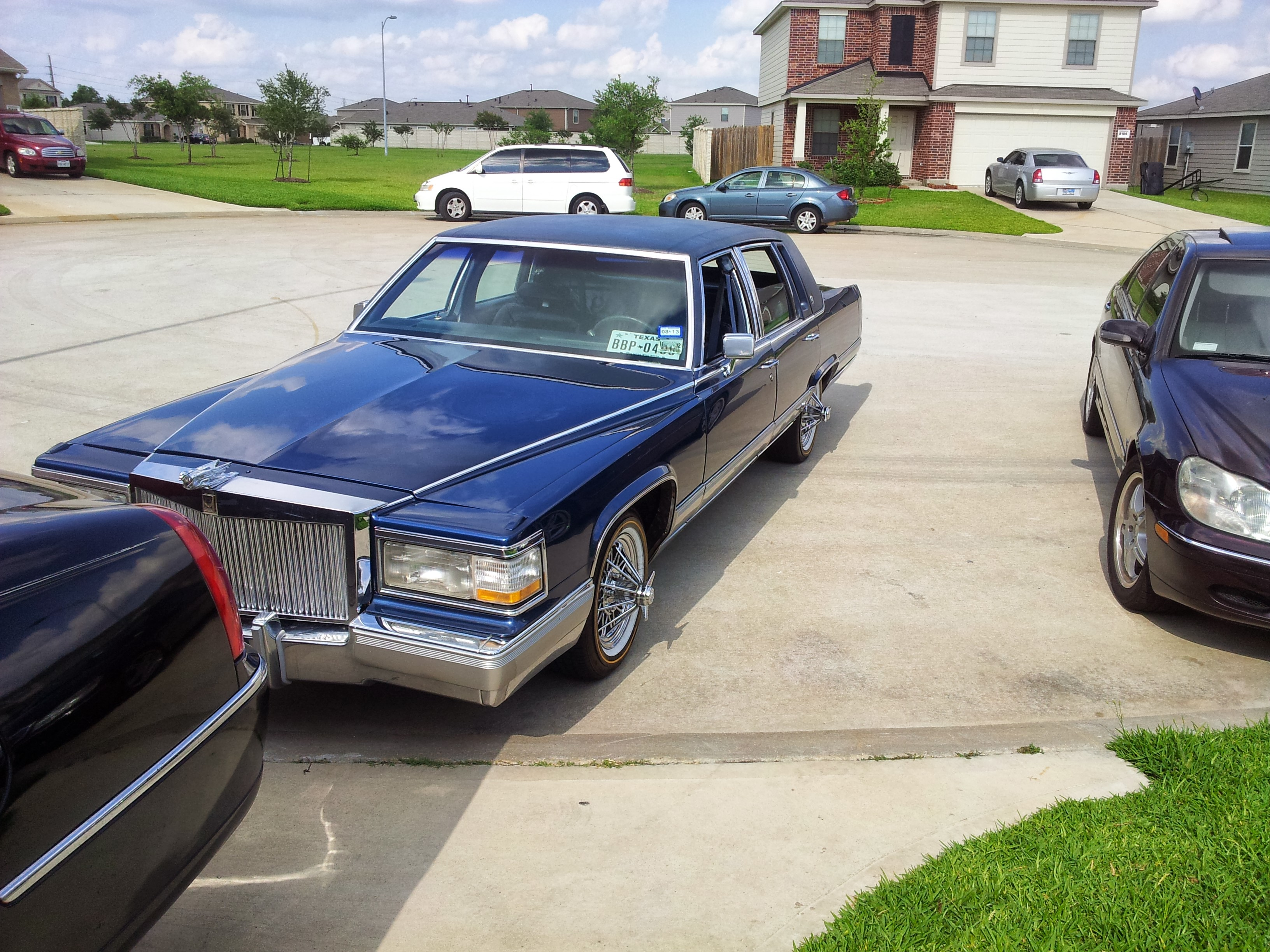 FLEETWOOD TRACEI's 1992 Cadillac Brougham