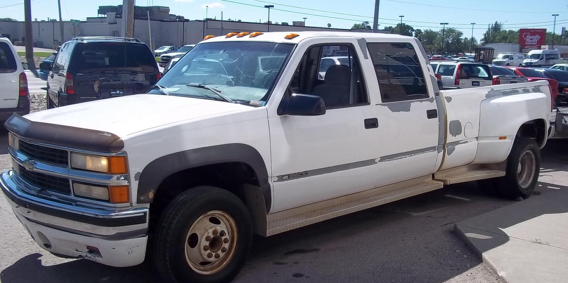1998 Chevrolet Silverado-3500-Regular-Cab